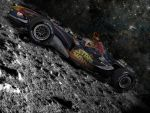 RedBull Racing on the Moon by TheDahie