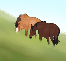 Is grass a romantic meal? by Nobilitas-EC
