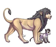 Father and Son by CorrieTsuku