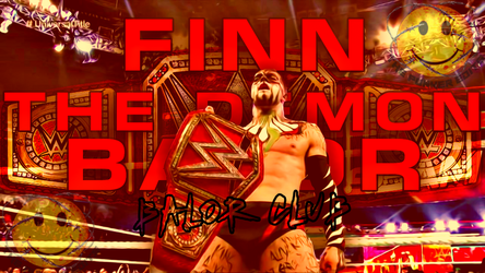 Finn Balor New Universal Champion Wallpaper by RubenVignesh7