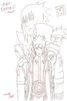 Naruto: Ending 21 -Cascade- (Team 7) by IITheDarkness94II