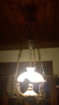 antique lamp with led mod by yusmeidra
