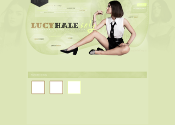 Design ft. Lucy Hale by JacqueBiebs
