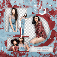 Pack Png Jenner Sisters 01 by neveroutofstyle
