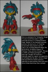 Custom Commission: Predator Hawk by Wakeangel2001