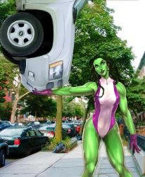 She-Hulk by CountCarbon