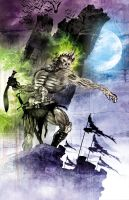 Zombie lord by artist Tom Kelly by TomKellyART