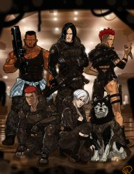 MERCs badass party commission by Ganassa