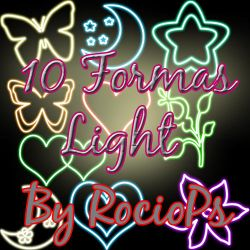 10 png de formas light by RocioPs