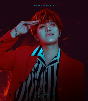 J-Hope / Fire by byDurst