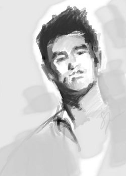 Morrissey sketch by Hydra15