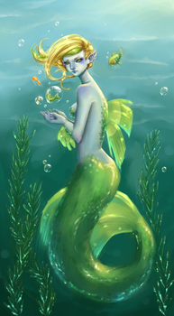 mermaid by Pluszek