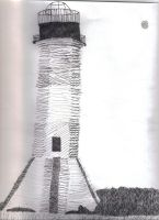 Ink Lighthouse by Animorphs007