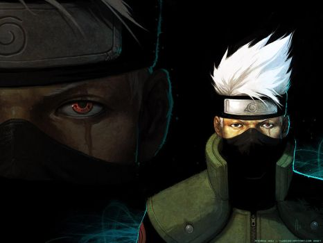 Kakashi - Wallpaper by nJoo