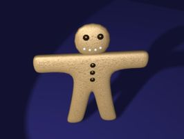 The Gingerbread Man by omisgirl
