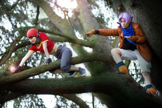 Trunks Cosplay  Daragonball GT by Caydance