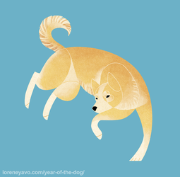 Year of the Dog - Canaan Dog by Kelgrid