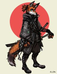 Fox Ronin by TheLivingShadow