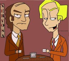 Niles and Frasier At Nervosa by vanegrimesj-ilovedhp