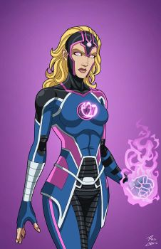 Harbinger (Earth-27) commission by phil-cho