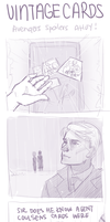 Vintage Cards (Avengers 4-Koma SPOILERS!) by Shattered-Earth