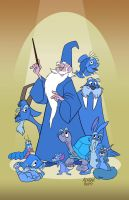 Merlin- A Wizard's Duel Lineup by toonbaboon