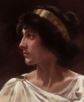 Bouguereau study by nunofrias