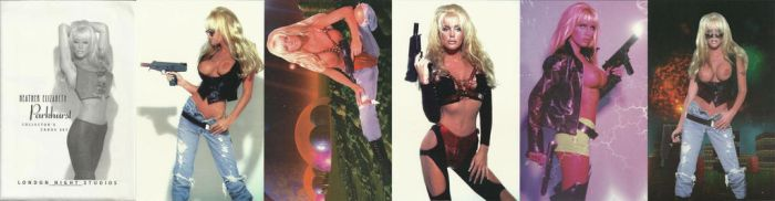 TOMMIE GUNN/HEATHER ELIZABETH COLLECTOR CARDS by Viper005