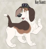 Ray Stantz - Sweet, Adorable, and now in Color! by Nyaasu