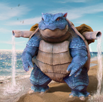 Realistic Blastoise!!! by Chenks-R
