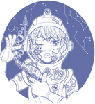 Spaced Bae Lines by King-Lulu-Deer