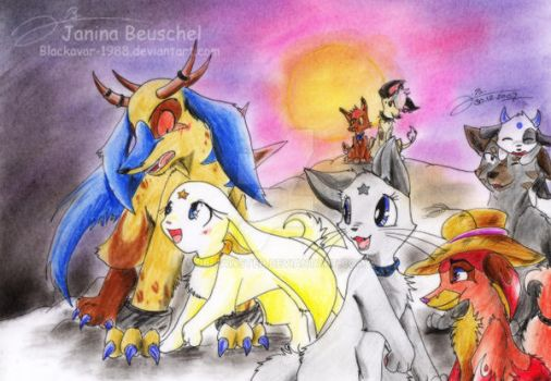 Together by JB-Pawstep