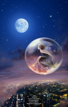 Fly to the moon by Firnadi