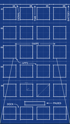 iPhone 5 Blueprint Wallpaper 640x1136 by MrDUDE42