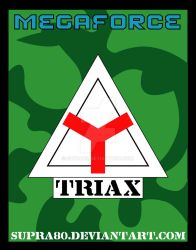 Megaforce - Triax Logo by Supra80