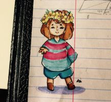 Frisk in flower crown by little-orange-fish