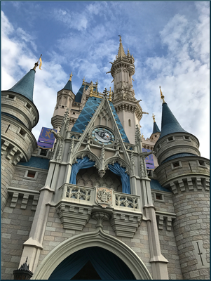Castle View from Looking Up IMG 2822 by WDWParksGal