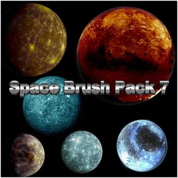 Space Brush Pack 7 by Rizl4