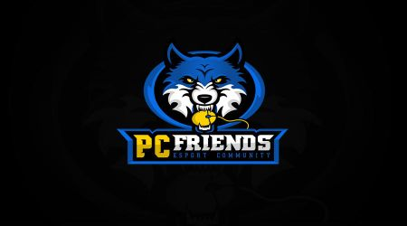Logo for the PC Friends esport community by MYeSportdesign
