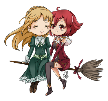 [F] IZETTA and FINE by AngelDranger