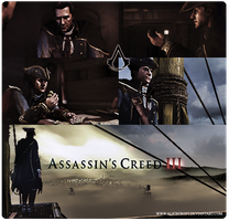 Haytham Kenway. Assassin's Creed III by AliceCroft
