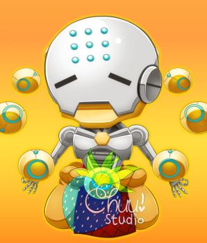 [P] Zenyatta Cute by xenokurisu