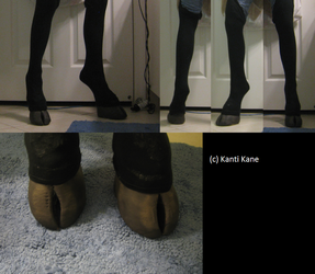 - Hooved shoes - by Kanti-Kane