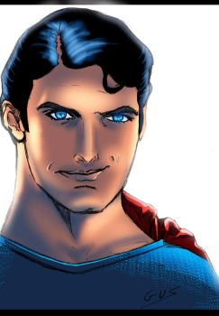 Superman by astrogus