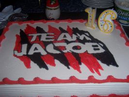 Team Jacob Cake by Krazy-taco101