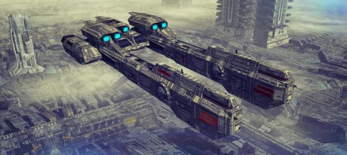 HMS BEOWULF OCS 1204 by scifilicious