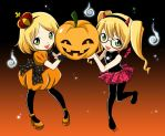 Halloween Wallpaper by Pita-Parfait
