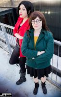 Daria and Jane. MTV series Cosplay by Giuzzys