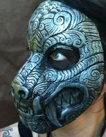 Ornate Monster Mask Silver by missmonster