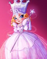 Glinda the Good Witch by GirlGregg